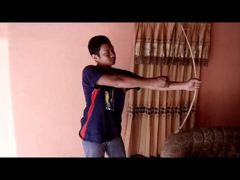 Cara membuat panah tradisional dengan mudah