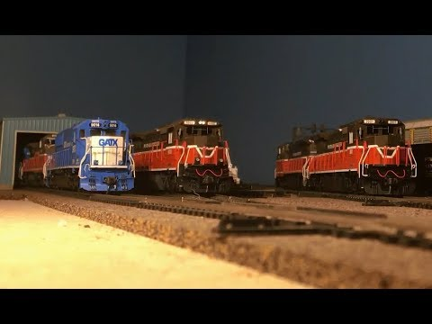 [HD] Providence & Worcester Operations in HO Scale Part 1