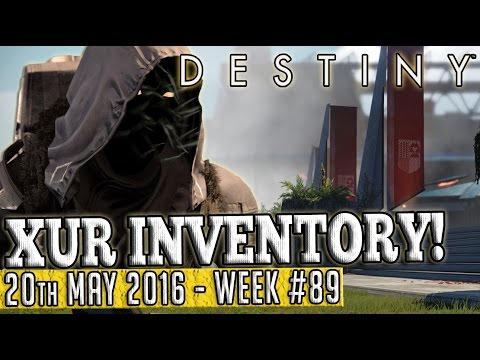 Destiny | XUR New Location & Inventory 20th May 2016! (Week 89)