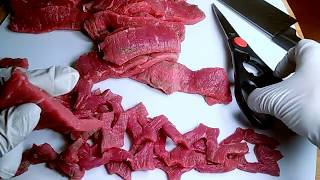 የቋንጣ አዘገጃጀት - How To Prepare Ethiopian Beef Quanta