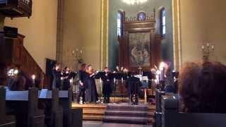 2.video.Baroka mūzikas koncerts.Jaunajā Sv. Ģertūdes baznīcā.Rga.Latvia.11.09.2013.
