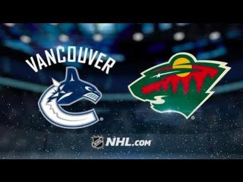 Vancouver Canucks vs Minnesota Wild – Nov. 15, 2018 | Game Highlights | NHL 2018
