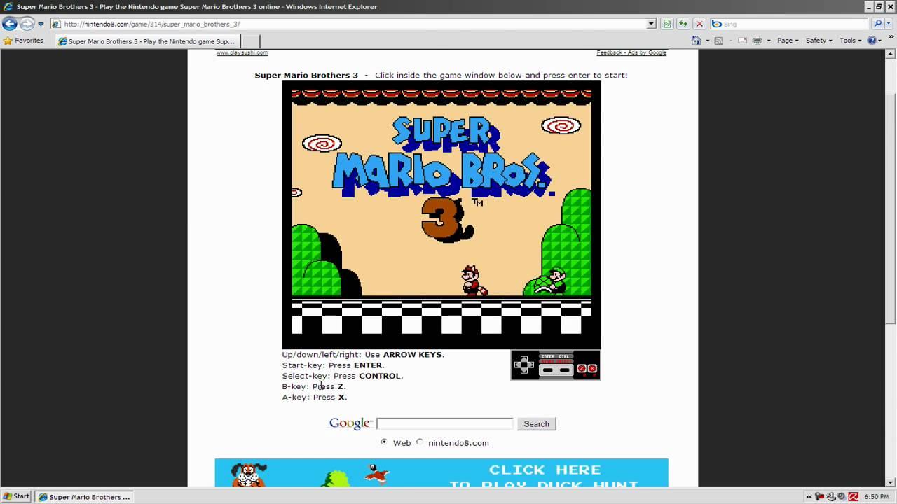 Play Nintendo Nes Games Online Youtube