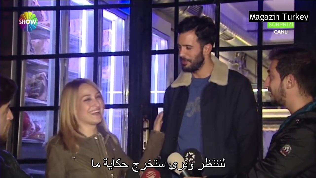 لقاء مع باريش أردوش بطل مسلسل حب للأيجار مع حبيبته جوبسى أوزاي مترجم للعربية 10youtube Com Youtube