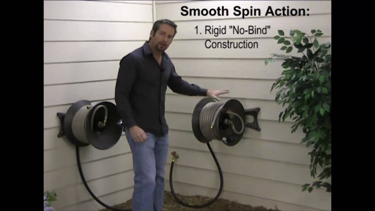 User Friendly Features Garden Hose Reels Youtube