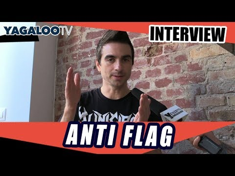 "Interview with Justin Sane from ANTI FLAG on the new album ""American Fall"""