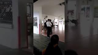 Malay barbarian gangster n hooligan fight at malaysia custom
