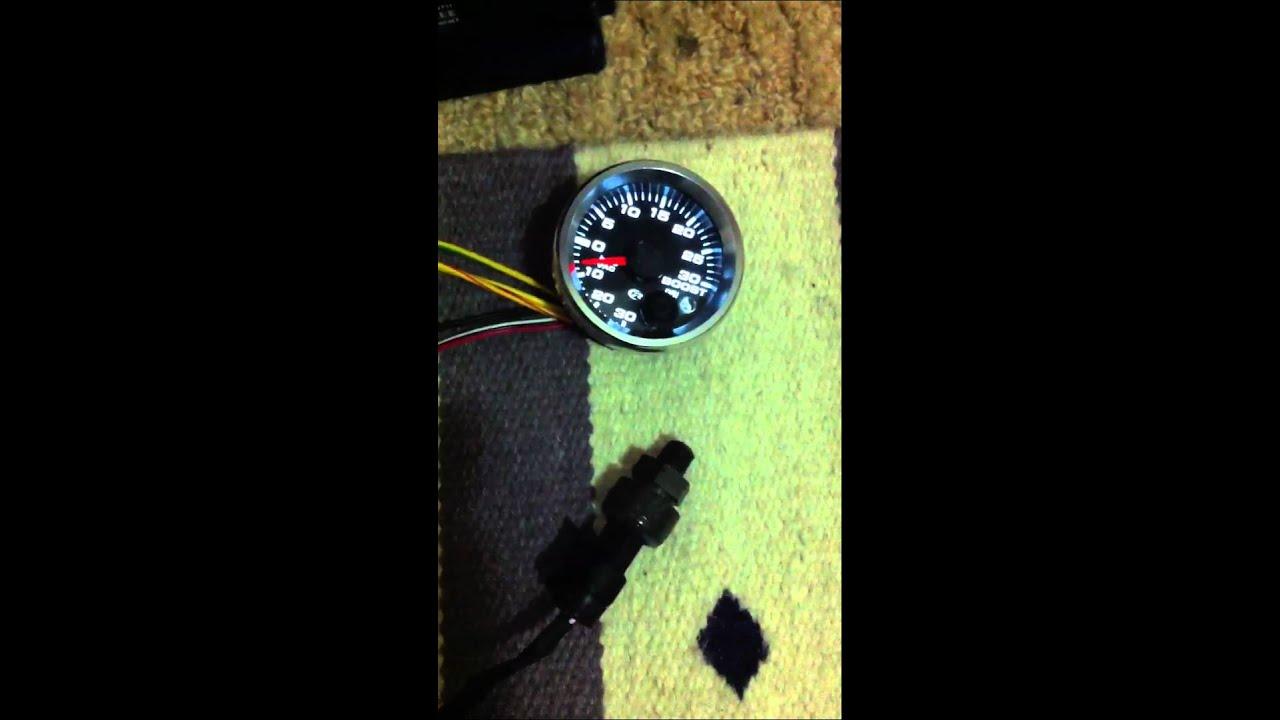 Speed Hut boost gauge