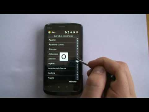 HTC Touch HD mit Stift