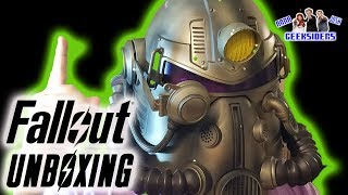 Unboxing: FALLOUT 76 COLLECTOR'S EDITION Power Armor AND MORE