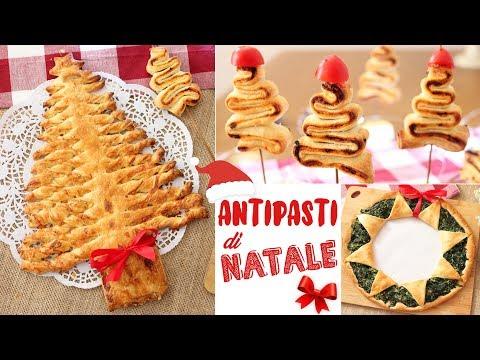 Antipasti Di Natale Da Chef.Antipasti Di Natale Ricette Facili E Veloci Con La Pasta Sfoglia Christmas Appetizers Youtube
