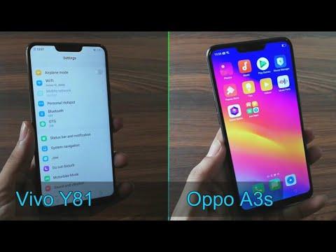 Vivo Y81 Vs Oppo A3s : SpeedTest, Camera, Specifications