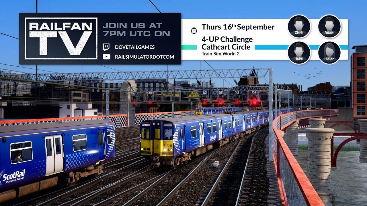 Train Sim World 2 - 4-UP Challenge Cathcart Circle