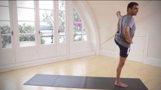 Yoga Tutorial: Extended Hand Big Toe Pose