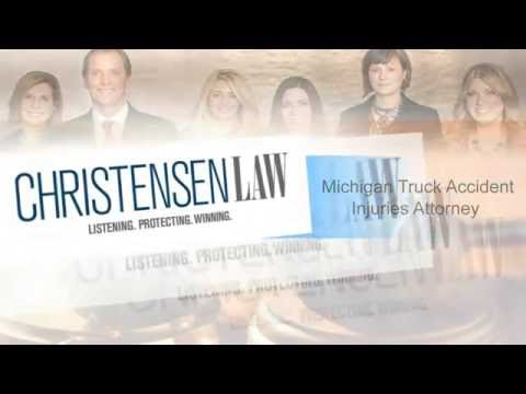 Michigan Truck Accident Injuries Attorney