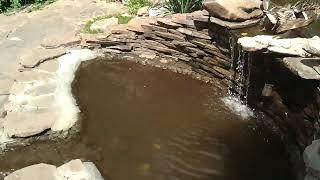 Декоративный  искусственный  пруд / С Водопадом