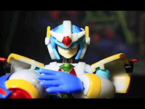 Megaman X vs Zero STOP-MOTION (full version)