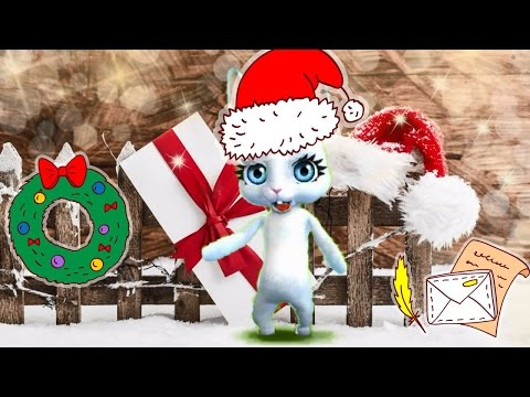 Zoobe Зайка Задорное поздравление с Рождеством! - Как поздравить с Днем Рождения