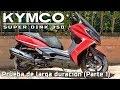 Kymco Super Dink 350   Características Y Detalles   Prueba Larga Duración