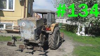 134# Życie zwyczajnego rolnika - Przygotowanie sadzarki ziemniaków S-204 do pracy w polu