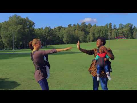 Mafikizolo - Love Potion Dance exercise with baby & Babywearing