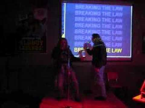 Drunken Breaking the Law Karaoke