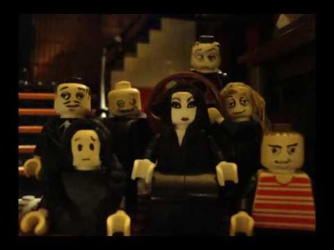 addams family lego - youtube
