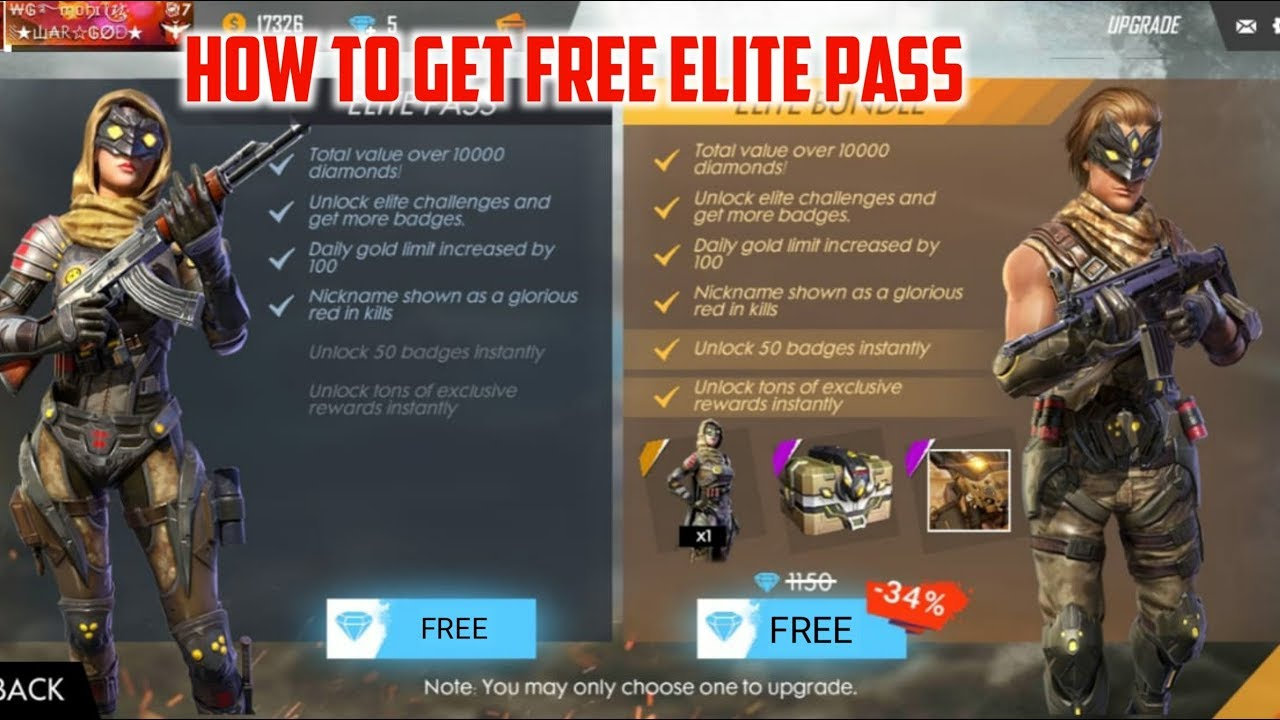 How To Get Free ELITE PASS In FREE FIRE |Unlock EMOTE Free|100%Working