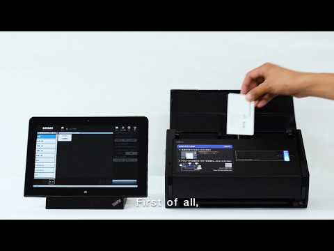 How to scan your business cards with the sansan scanner for how to scan your business cards with the sansan scanner for global users soundless reheart Images
