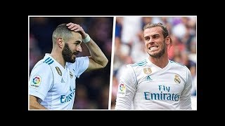 Transfer news: No 'danger' of Gareth Bale & Karim Benzema being binned by Real Madrid, says Zined...