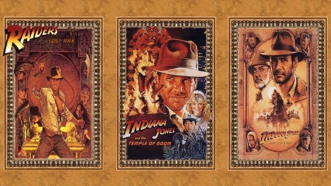 Image result for indiana jones trilogy
