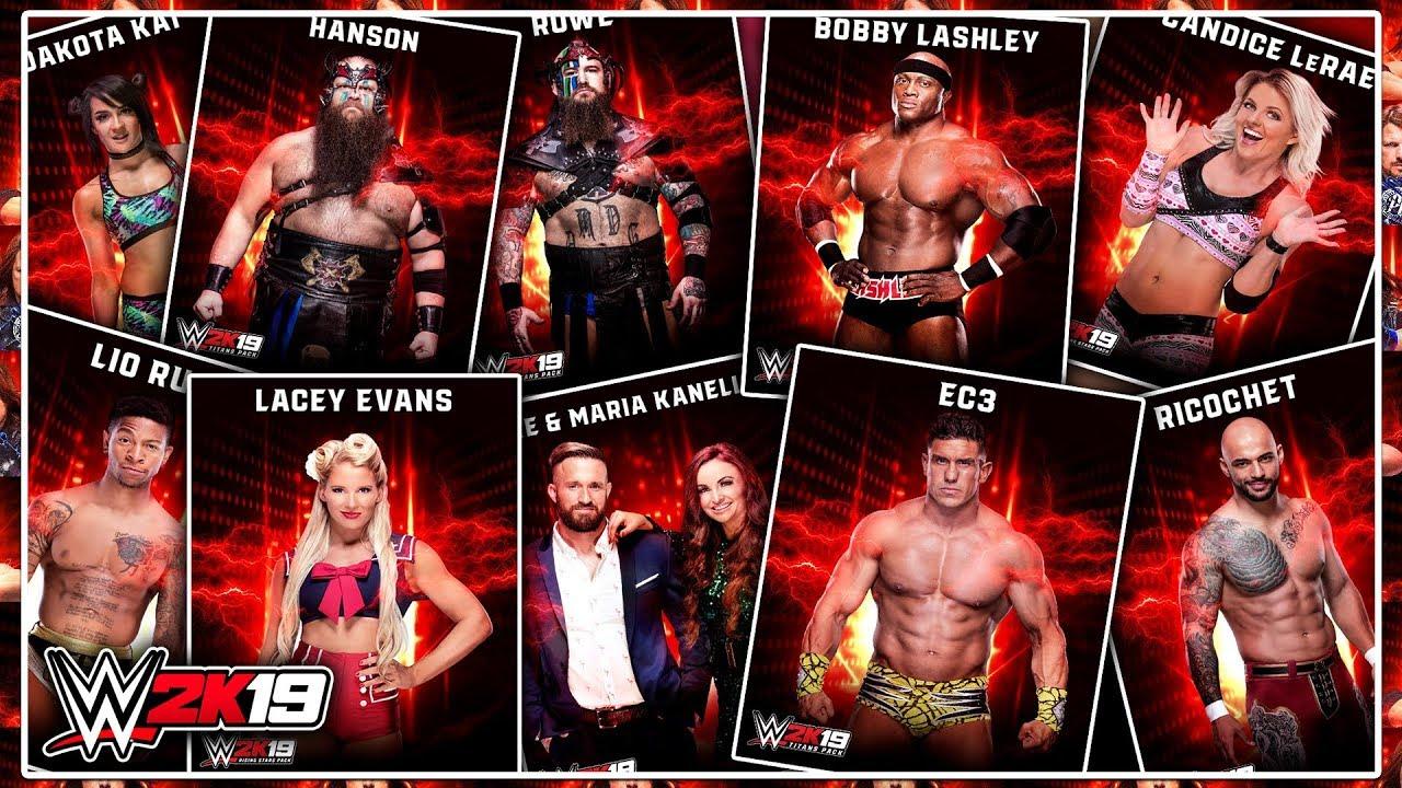 WWE 2K19 - Full DLC Roster REVEALED!
