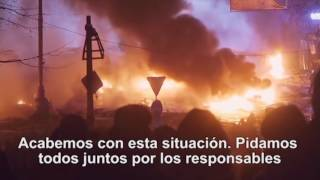 """P26 / 18/06/17 / 1/7b - El video del Papa: """"Eliminar el comercio de las armas"""""""