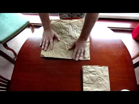 ASMR Brown Paper Crinkles (binaural)