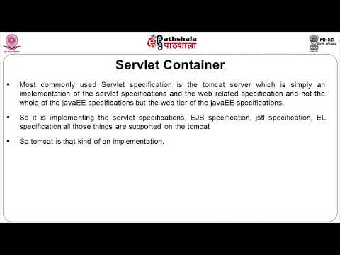Servlet Container and structure of Web Application