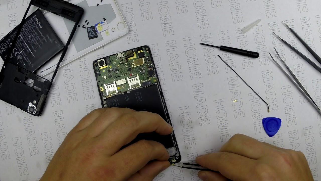 После ремонта телефон снова