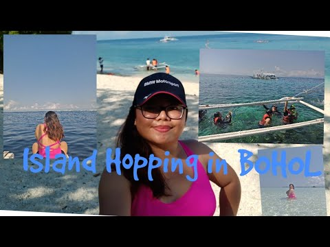 TravelVlog: Bohol Vlog Part2 Island Hopping ( Dolphine Watching,North Sand Bar in Bohol) Philippines