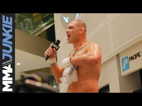 UFC on ESPN 1: Cain Velasquez open workout
