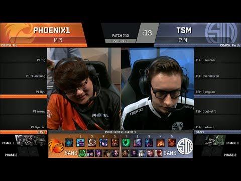 TSM vs P1, Game 2 - 2017 NA LCS Summer Week 6 - Team SoloMid vs Phoenix 1