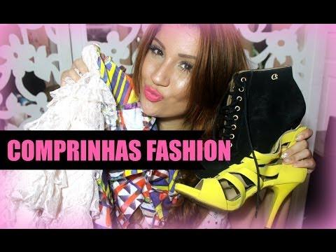 Comprinhas Fashion - roupas e sapatos! Por Bianca Andrade