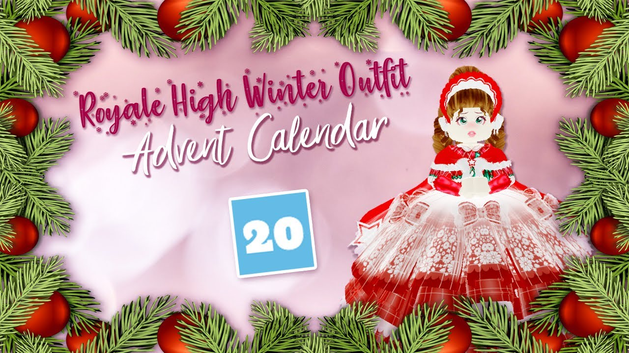 [VIDEO] - The Royale High Winter Outfit Advent Calendar Day 20 2