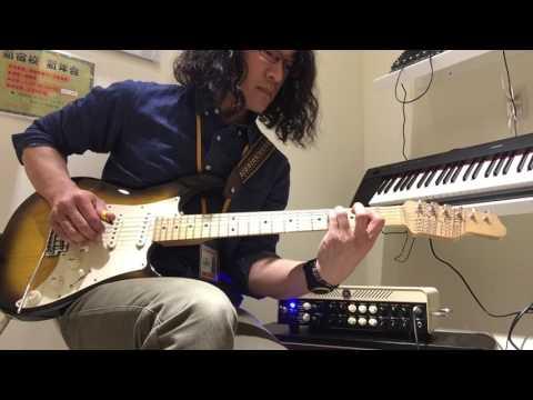 クランチチャンネル YAMAHA THR100H Dual Beeギター教室新宿校 林先生 による演奏