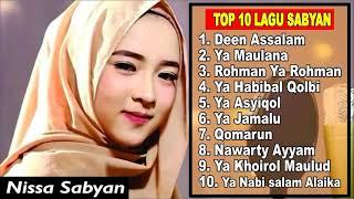 Download lagu TOP 10 LAGU NISSA SABYAN