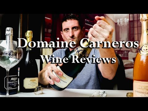 $30 Vs. $100 California Sparkling Wines | Domaine Carneros by Taittinger