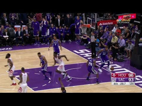 Highlights: Clint Capela (22 points)  vs. the Kings, 10/18/2017