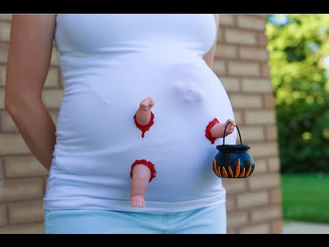 Thumbnail: Zombie Baby Maternity Costume!