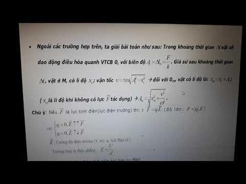 #physic#maieste  Phương pháp giải bài tập vật lý 12 phần 6