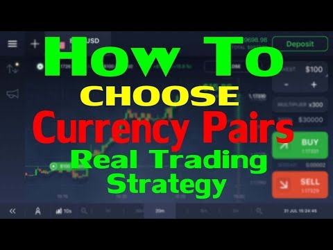 Make $100 Daily | How to choose currency pairs | Binary Trading Pairs | iq options basics