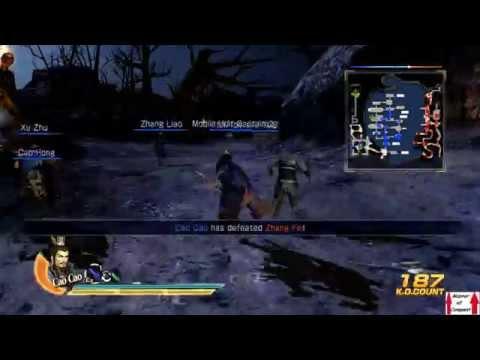 Dynasty Warriors 8 Wei Campaign Walkthrough Part 11 - Battle of Chibi