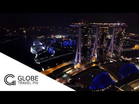 The Night of Singapore - Marina Bay: Globe Travel Pix